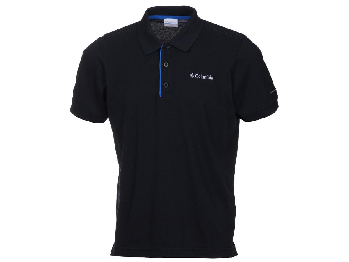 Cascade Range Solid Polo - 010-Black férfi pólóing 1713841-q - S