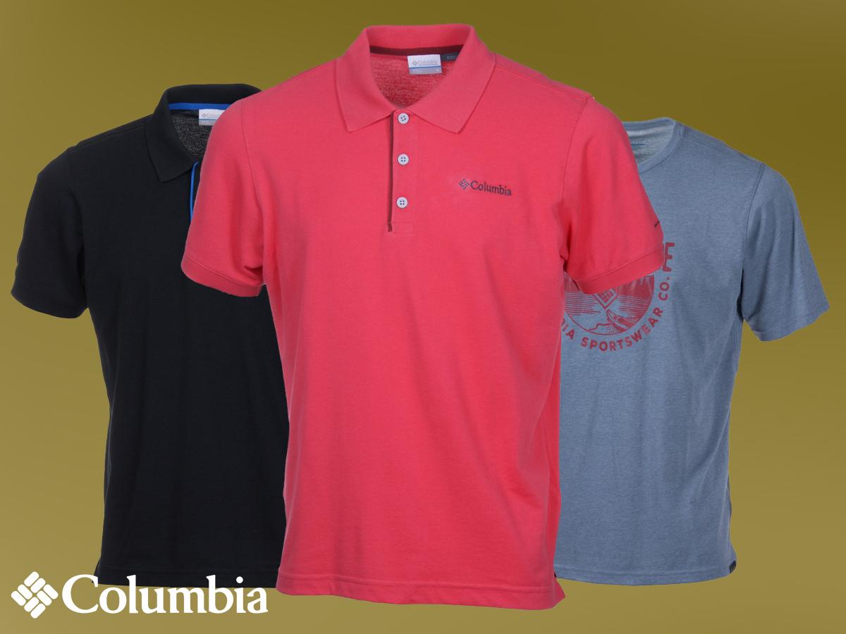 Columbia Trail Shaker Mens Short Sleeve Shirt kereknyakú póló L méretben a mindennapokra és szabadidős tevékenységekhez