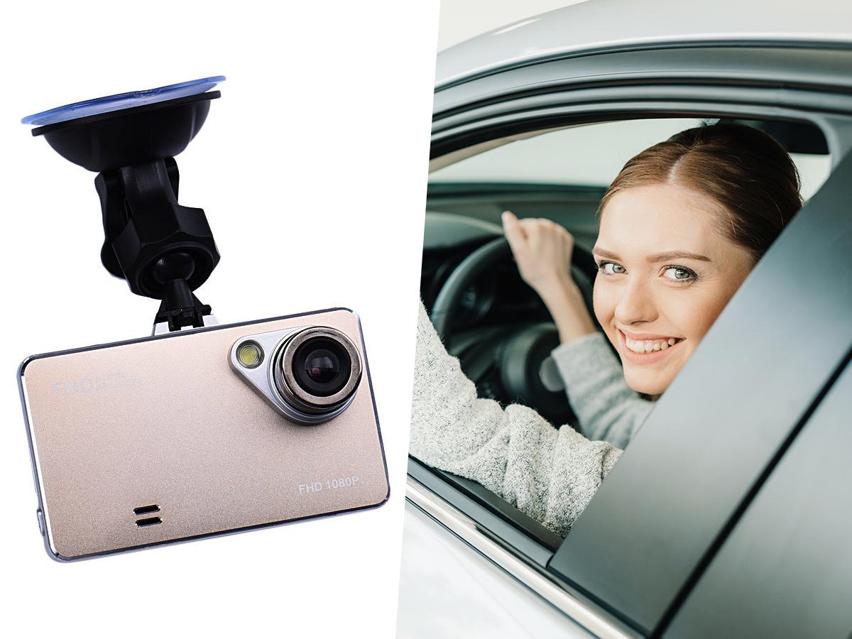 Autós kamera eseményrögzítéshez, forgalomfigyeléshez (Car Black Box / T161-1) kiváló képminőség, éjszakai üzemmód, széles látószög
