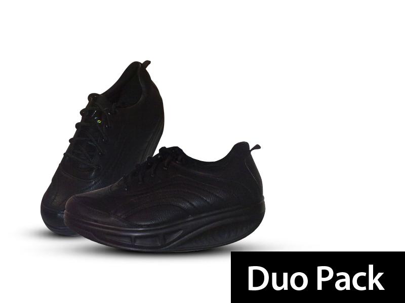 Gördülőtalpú lábbeli (2 pár) + 10 pár pamut zoknival és ajándék cipőkanállal