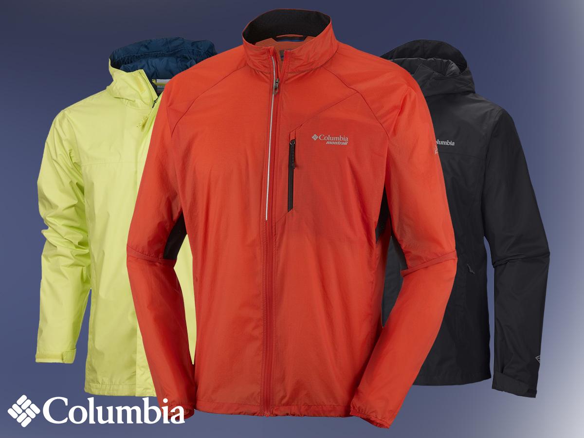 Columbia férfi technikai dzsekik L és XL méretben, vízálló, lélegző, szélálló anyagból szabadidős tevékenységekhez és utcai viseletre