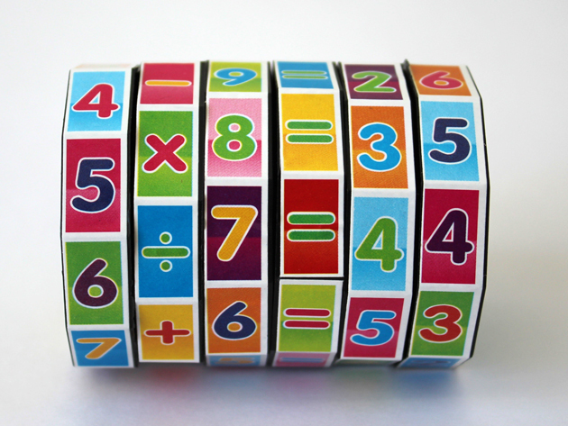 Matematika tanulást segítő bűvös henger a játékos tanuláshoz - szórakoztat és készségeket fejleszt