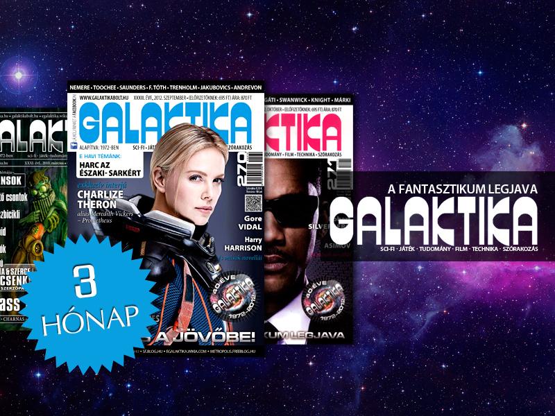 A Galaktika több mint magazin, minden száma egy sci-fi novelláskötettel ér fel, a fantasztikum legjava.