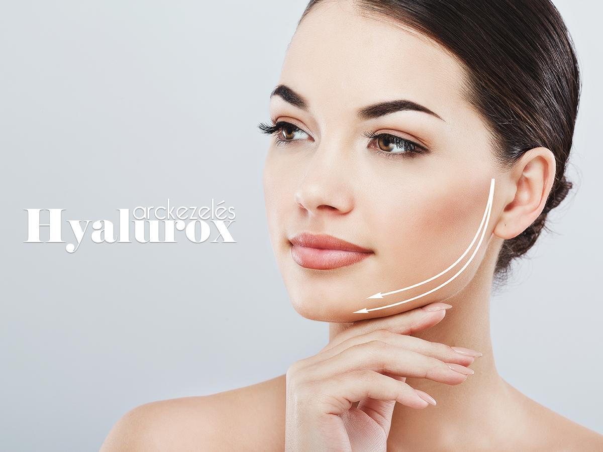 Hyalurox lézeres ráncfeltölés, látványos arcfiatalítás - 3 alkalmas kezelés szem, száj, homlok és nyak területeken / Brillantisz Stúdió, V. ker.