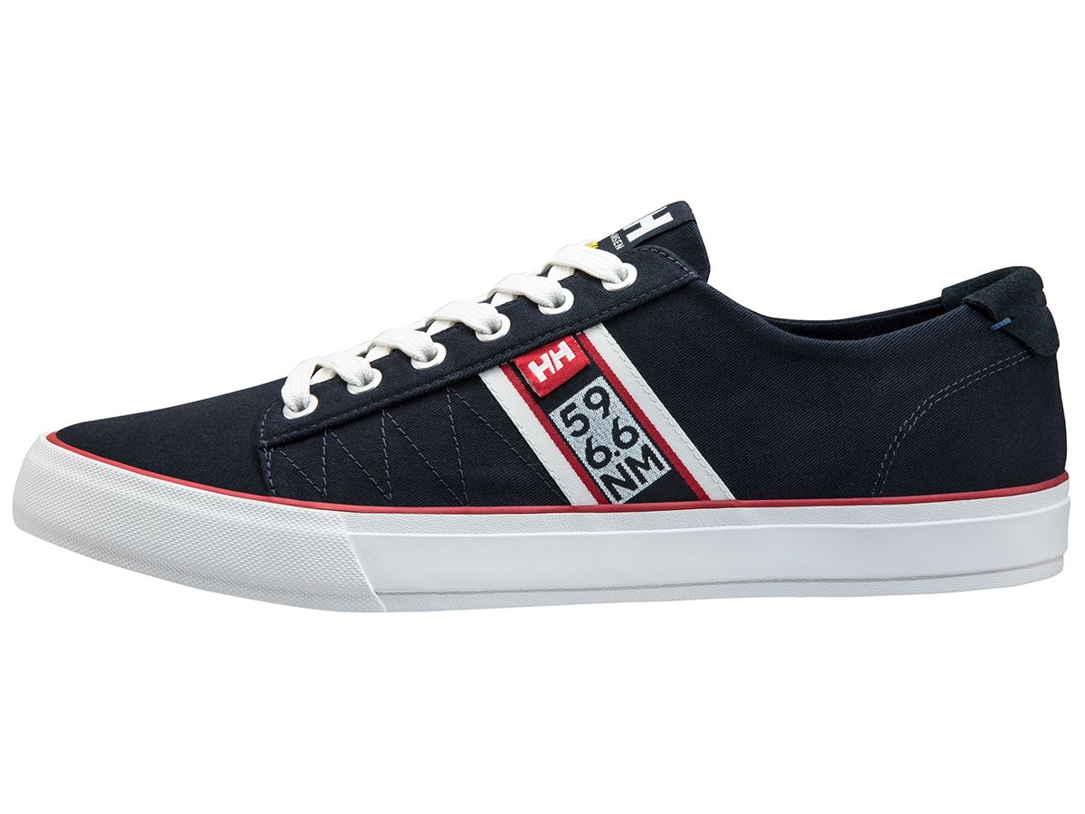 Helly Hansen SALT FLAG F-1 NAVY / OFF WHITE / FLAG R EU 44.5/US 10.5 (11301_597-10.5)