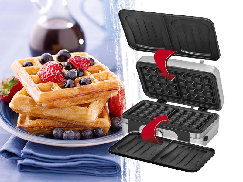 Szendvics és gofrisütők / MPM - nélkülözhetetlen kiegészítők a legízletesebb reggelikhez és desszertekhez