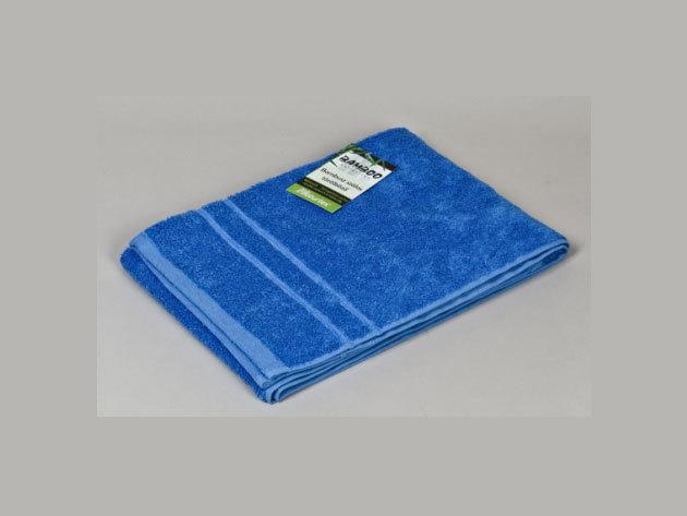 Bambuszos törölköző - kék (50x100cm) 0201000272