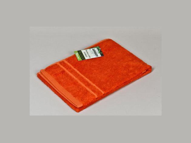 Bambuszos törölköző - narancs (50x100 cm) 0201000274
