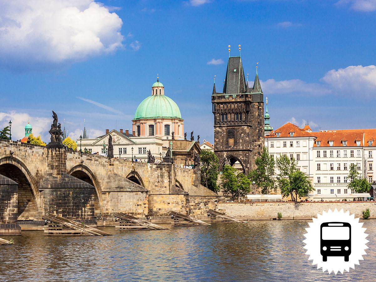 Prága, Csehország, utazás szállással - buszos kirándulás, 3 nap/ 2 éjszaka hajószállón (aug. 18-20.  és okt. 20-22.) / fő