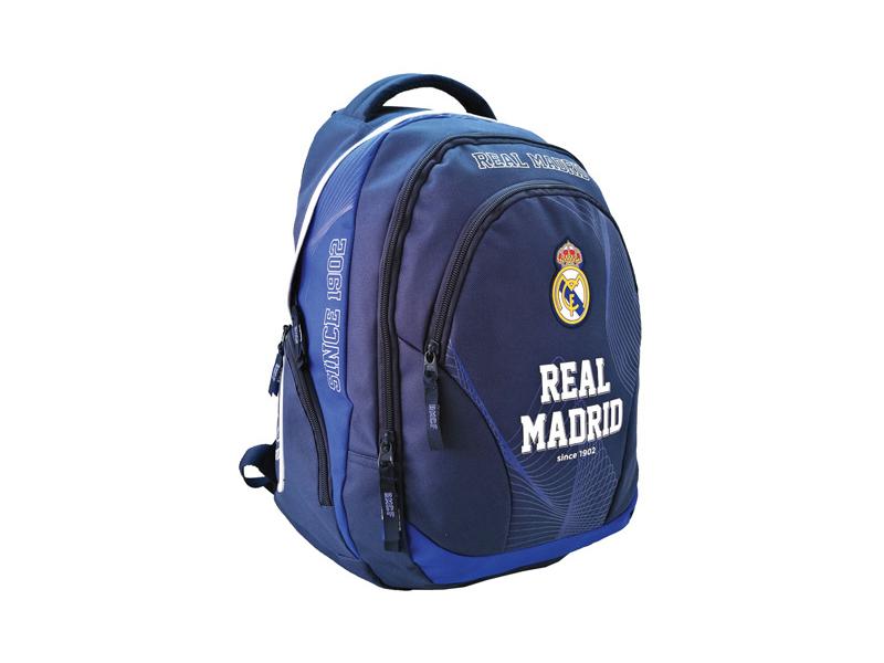 Real Madrid lekerekített iskolatáska, hátizsák