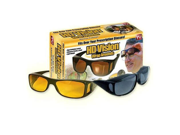 Hd Vision Wrap Arounds - dupla szemüveggel éjjelre és nappalra