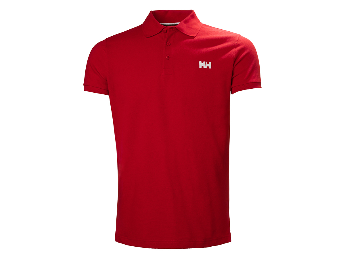 Helly Hansen TRANSAT POLO FLAG RED S (33980_110-S)