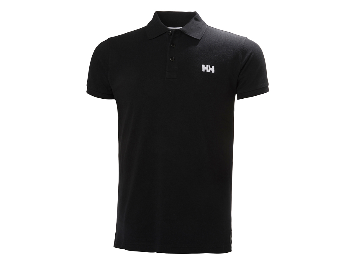 Helly Hansen TRANSAT POLO - BLACK - XXXXXL (33980_990-5XL )