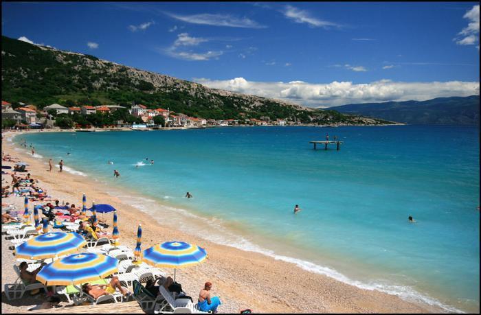 Baska, Horvátország - csobbanás az Adriában / non-stop buszos utazás a tengerparthoz, augusztus 3. / fő