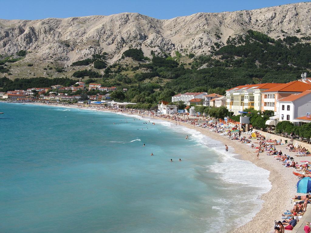 Baska, Horvátország - csobbanás az Adriában / non-stop buszos utazás a tengerparthoz, augusztus 17. / fő