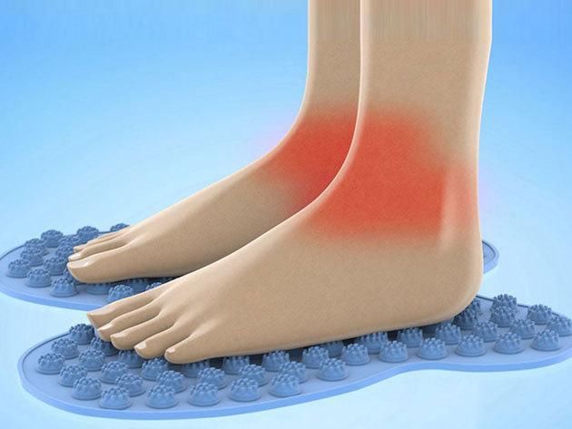 Reflexológiai talpmasszázs szőnyeg - a láb és az egész szervezet jólétéért