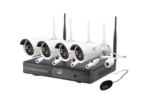 WIFIs komplett 4 kamerás megfigyelő IRP-000003914
