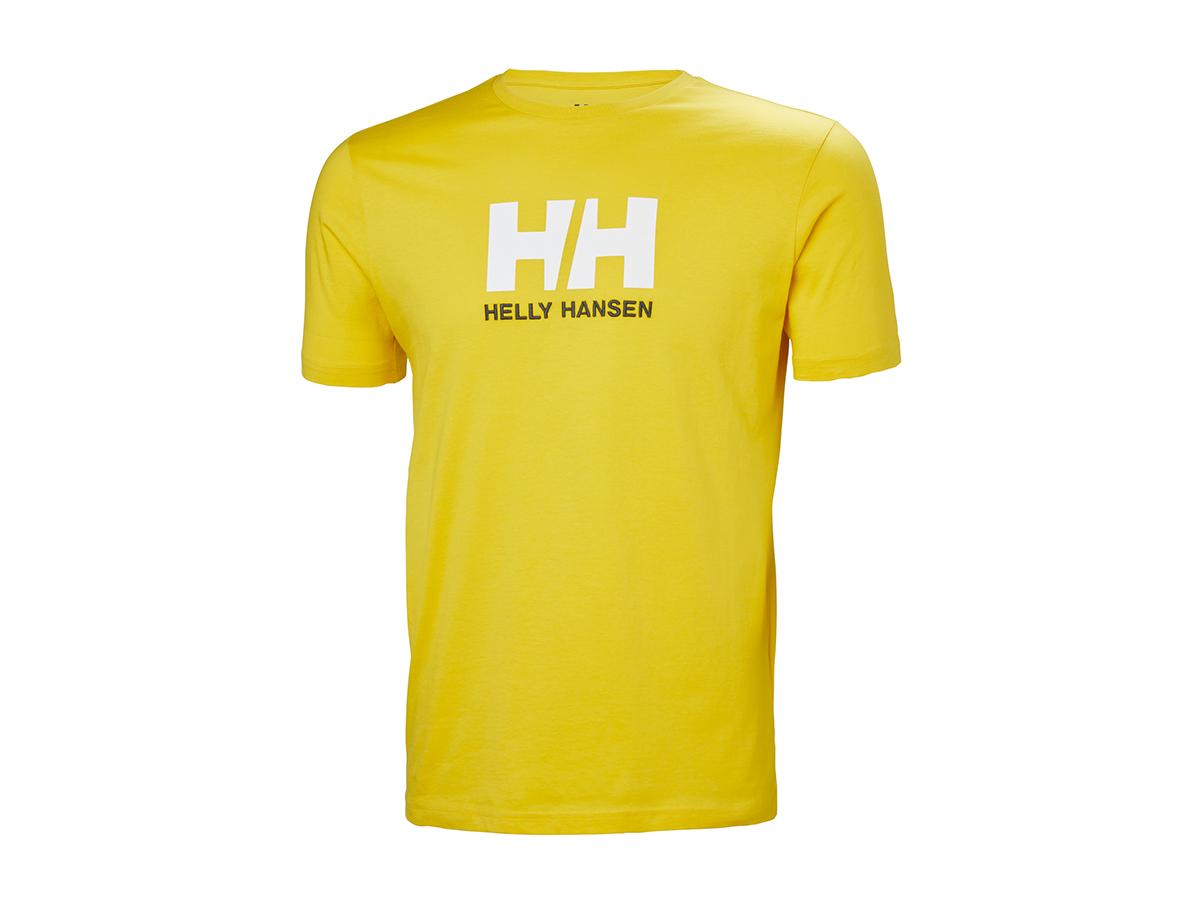 Helly Hansen HH LOGO T-SHIRT SULPHUR XL (33979_351-XL) - AZONNAL ÁTVEHETŐ
