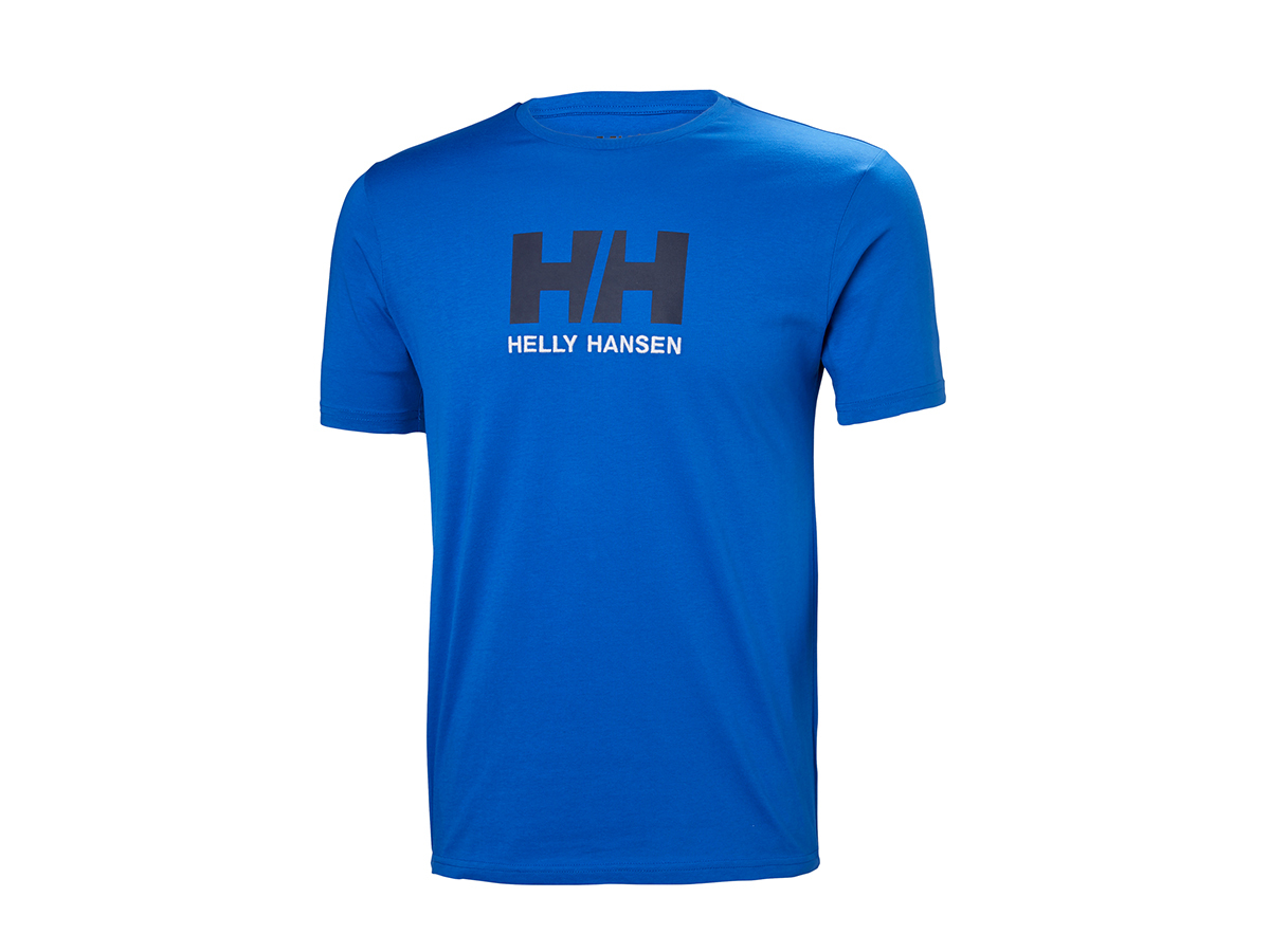 Helly Hansen HH LOGO T-SHIRT OLYMPIAN BLUE L (33979_563-L) - AZONNAL ÁTVEHETŐ