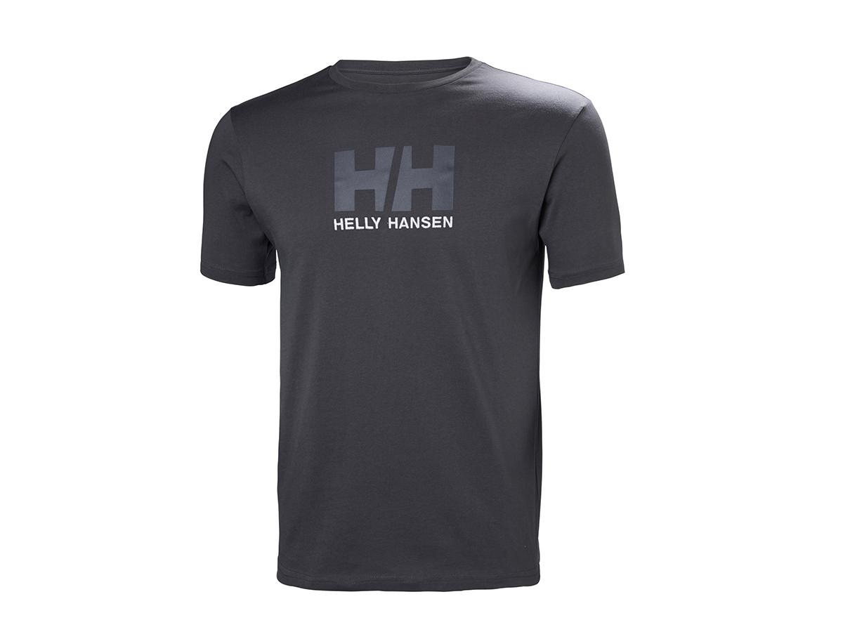 Helly Hansen HH LOGO T-SHIRT EBONY L (33979_980-L) - AZONNAL ÁTVEHETŐ