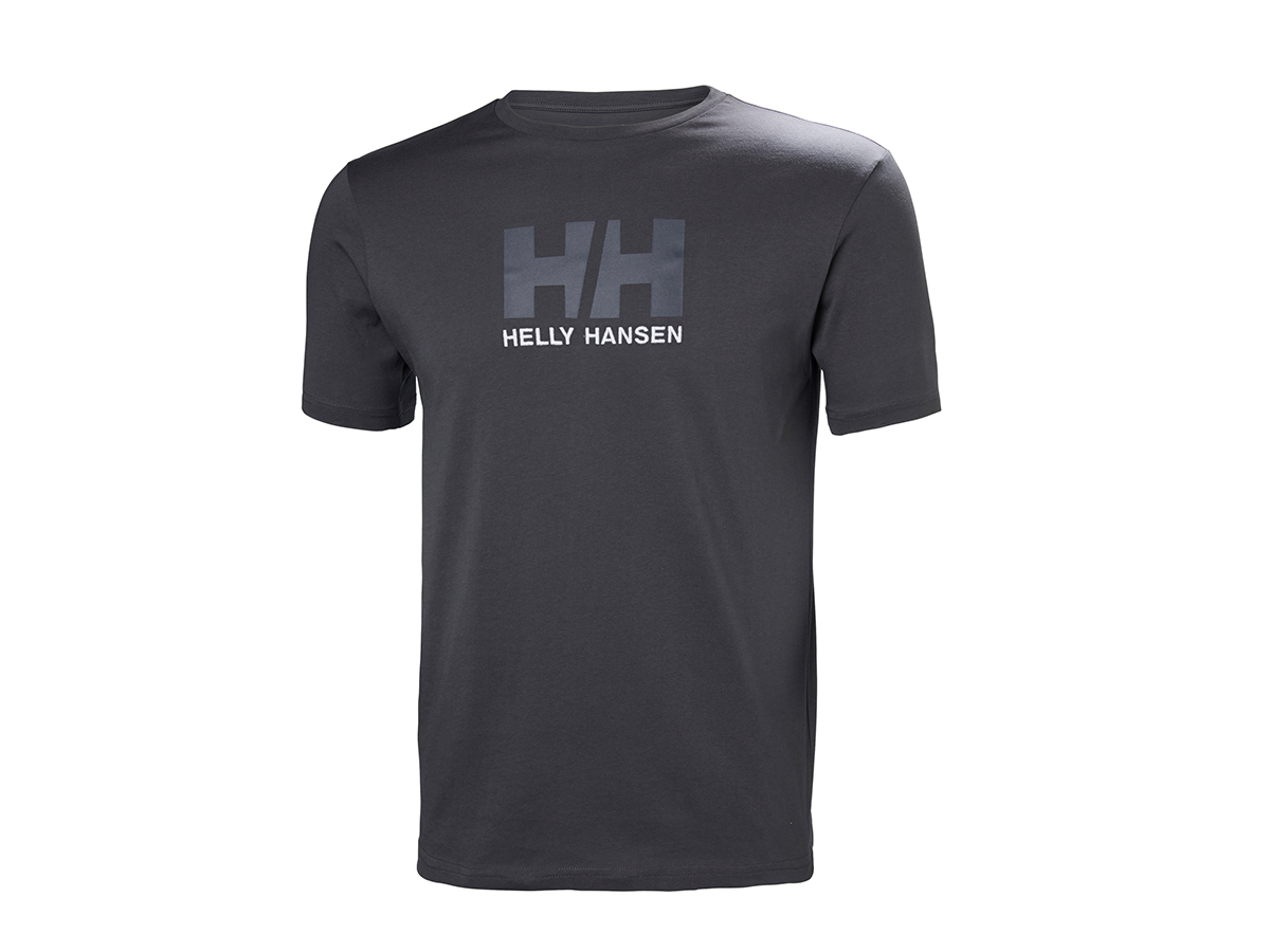 Helly Hansen HH LOGO T-SHIRT EBONY XXXXL (33979_980-4XL)