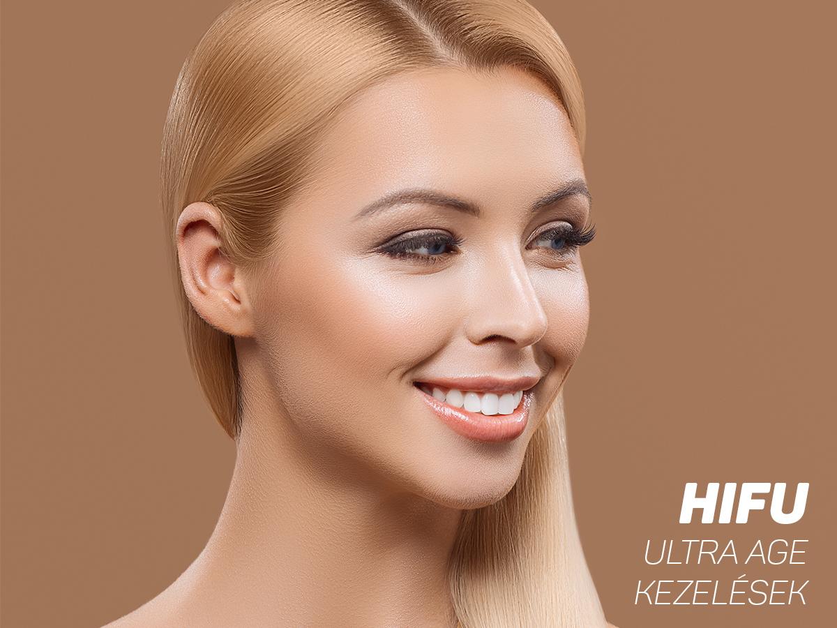 HIFU: Ultra Age bőrfiatalító, feszesítő arckezelések mikro-fókuszált ultrahanggal, választható területen / V. ker., Brillantisz Stúdió - Az eredmény garantált!