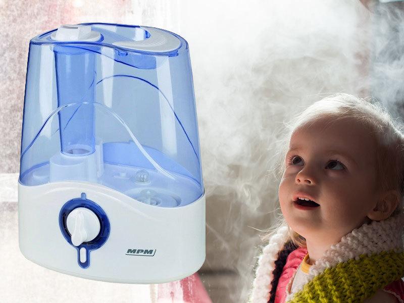 MPM ultrahangos hidegpárásító (30W) - otthonod egészségesebb, páradúsabb levegőjéért