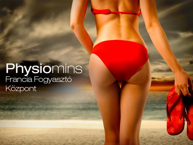 Egy hónapos Physiomins kezelésekkel tömeged akár 5 kilóval, míg a ruhaméreted egy-két mérettel is csökkenhet!