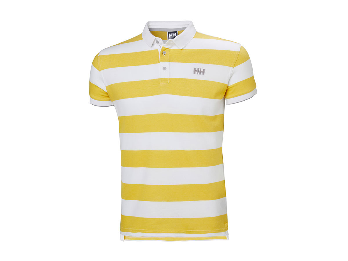 Helly Hansen MARSTRAND POLO SULPHUR STRIPE S (53022_351-S)