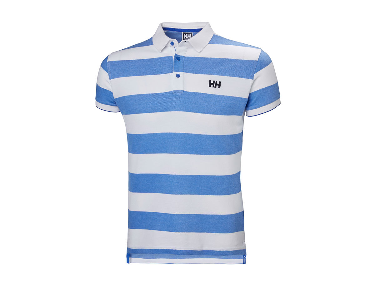 Helly Hansen MARSTRAND POLO BLUE WATER STRIPE L (53022_503-L)
