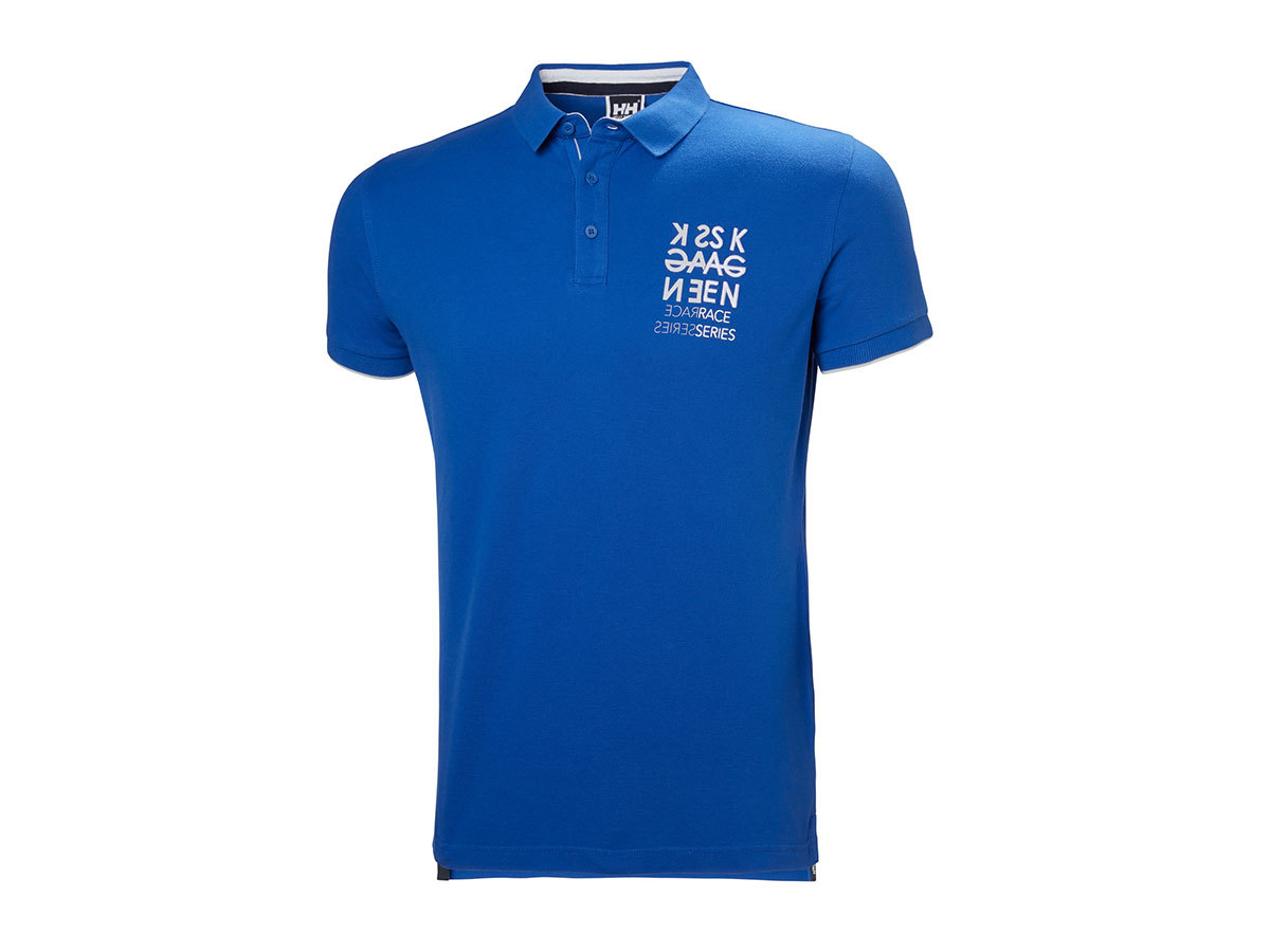 Helly Hansen MARSTRAND POLO OLYMPIAN BLUE STRIPE M (53022_564-M)