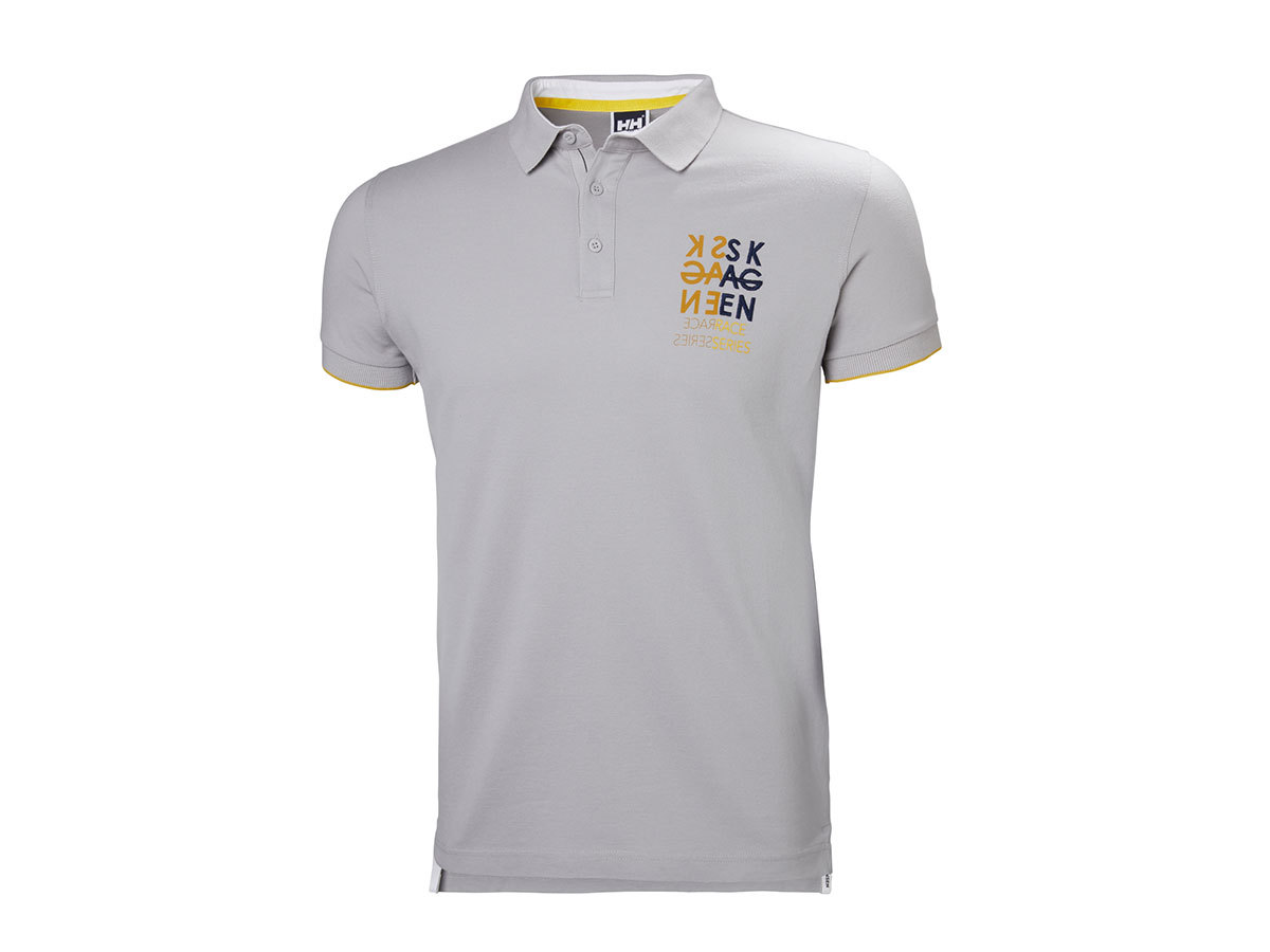 Helly Hansen MARSTRAND POLO SILVER GREY XXL (53022_820-2XL)