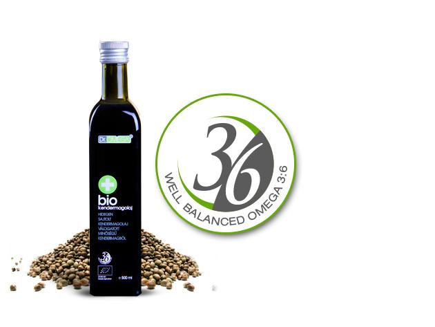 Dr. Omega - Bio Kendermagolaj 500 ml