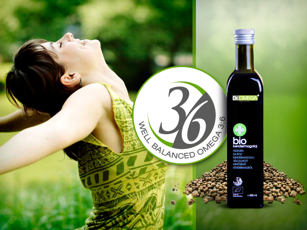 Napi két kanál kendermagolajjal megalapozod az egészséges életet és a bőröd üdeségét!
