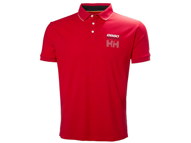 Helly Hansen HP RACING POLO - FLAG RED - XXL (53012_111-2XL )