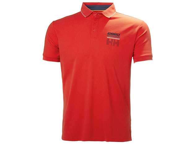 Helly Hansen HP RACING POLO - GRENADINE - M (53012_135-M )