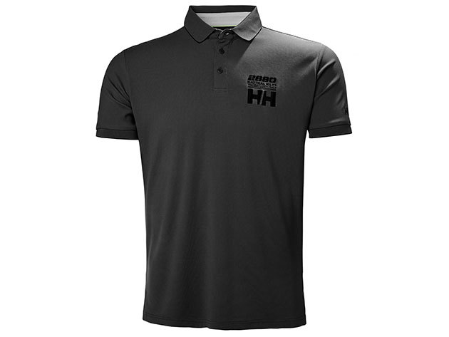 Helly Hansen HP RACING POLO - EBONY - XXL (53012_981-2XL )