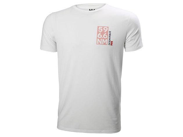 Helly Hansen HP SHORE T-SHIRT - WHITE - XL (53029_001-XL ) - AZONNAL ÁTVEHETŐ