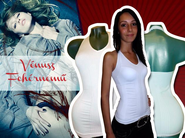 A Vénusz varrás nélküli trikó nőies és egyben észrevétlen kényelmet biztosít