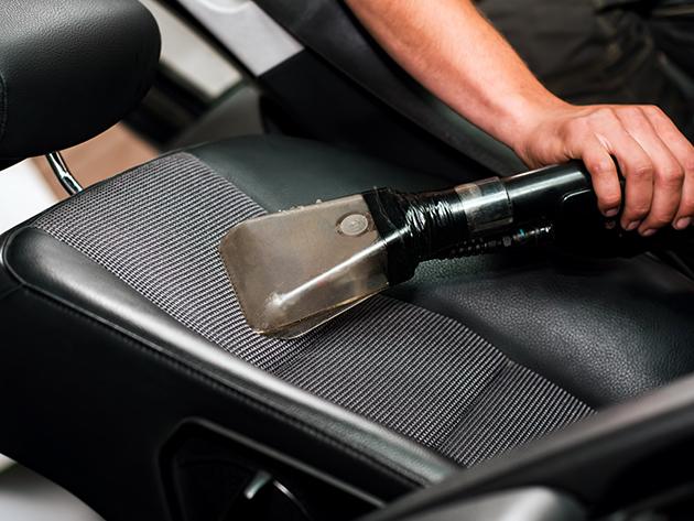Üléskárpit tisztítás prémium külső+belső autó mosással