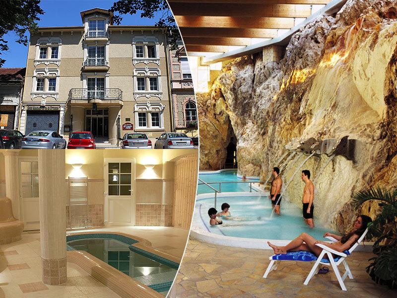Öreg Miskolcz Hotel**** szállás Mikolcon 3 nap 2 éjszaka 2 fő részére félpanziós ellátással hétvégén, Barlangfürdő belépőkkel