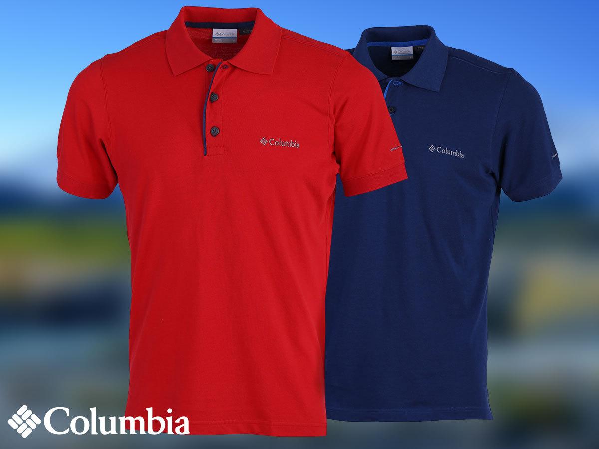 Columbia Cascade Range Solid Polo galléros póló férfiaknak technikai megoldásokkal, Omni Wick izzadságkezeléssel, UV védelemmel (S-XXL)