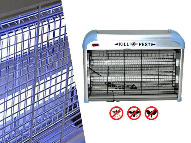 Fénycsöves elektromos rovarcsapda (20W UV) a gyors, kíméletes, szagtalan rovarirtáshoz - Készülj fel az invázióra!