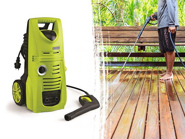 Camry magasnyomású tisztító 2200W-os teljesítménnyel - autók, parkolóhelyek, lépcsők, teraszok tisztítására