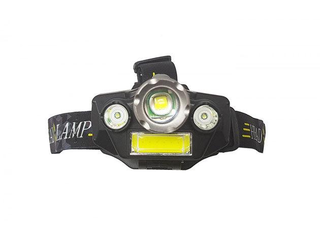 Fejlámpa 4 LED-del