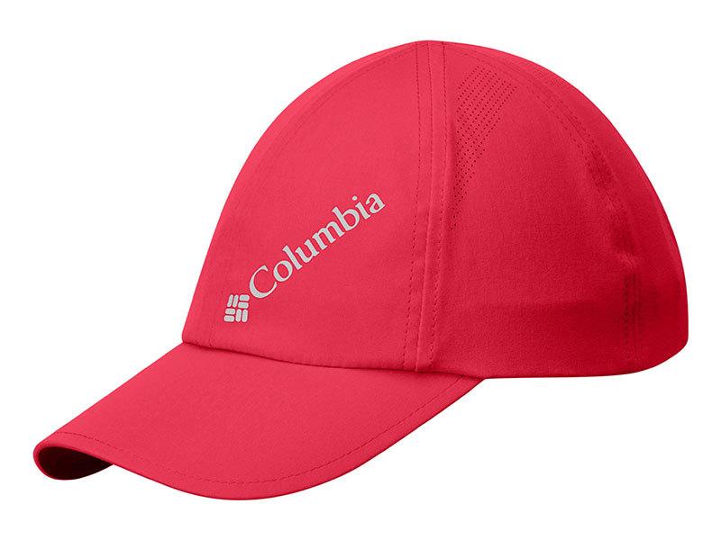 Columbia W Silver Ridge  Ball Cap - 1446941-s - 653-Red Camellia