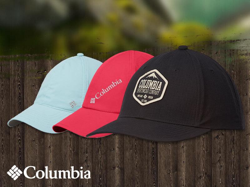 Columbia női és uniszex baseball sapkák technikai megoldásokkal: UV szűrő, izzadtság elvezető, vízlepergető