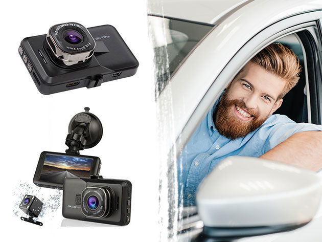HEINGANG autós kamera, akár tolató kamerával - eseményrögzítéshez, forgalomfigyeléshez