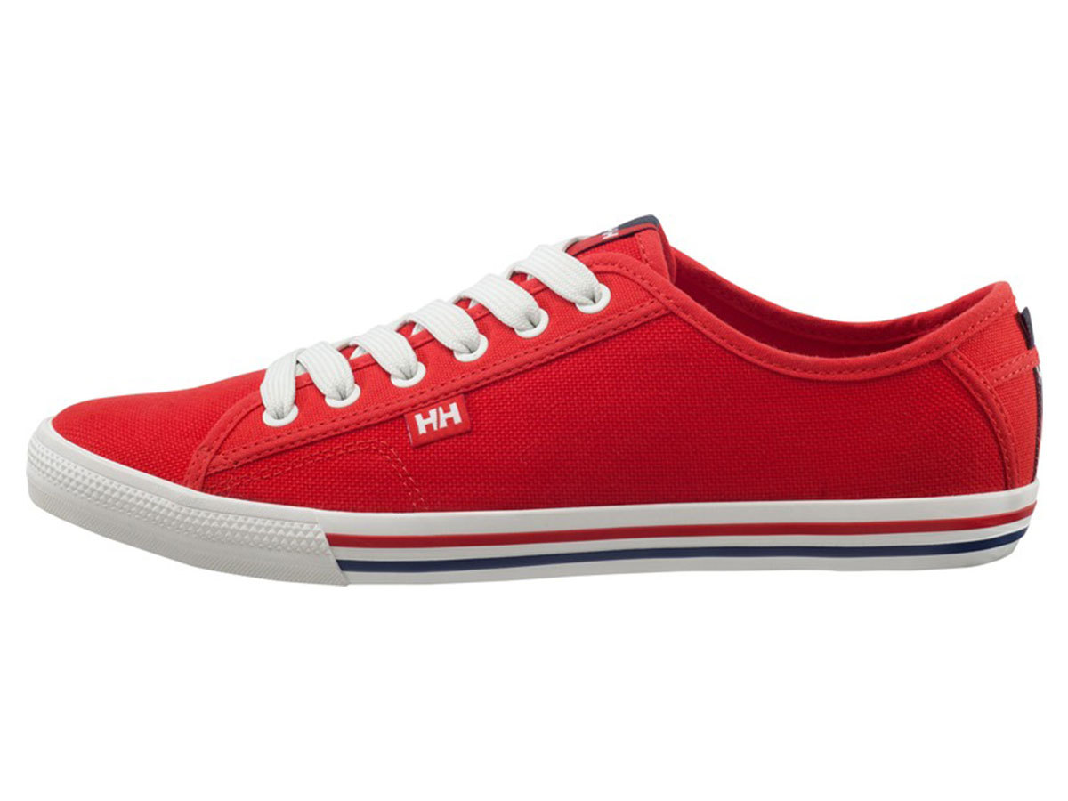 Helly Hansen FJORD CANVAS - FLAG RED / OFF WHITE / NA - EU 42/US 8.5 (10772_110-8.5 ) - AZONNAL ÁTVEHETŐ