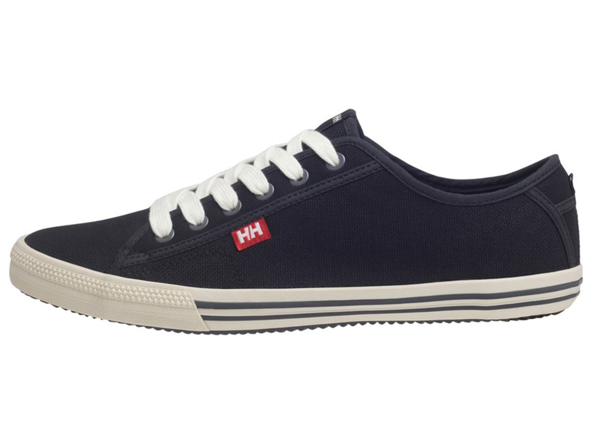 Helly Hansen FJORD CANVAS - BLACK / OFF WHITE / BIRCH - EU 42/US 8.5 (10772_990-8.5 ) - AZONNAL ÁTVEHETŐ